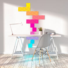 Nanoleaf Canvas Smarter Kit Set of 13 in color