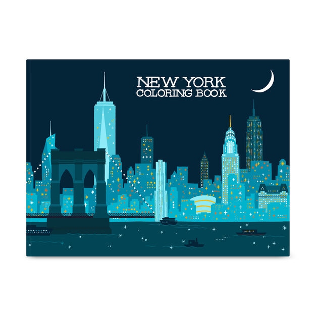 New York Coloring Book in color