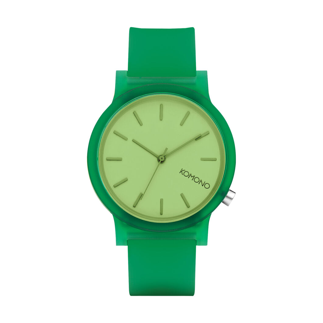 Mono Color Watch in color Green
