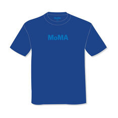 MoMA Logo Tonal T-Shirt in color Blue