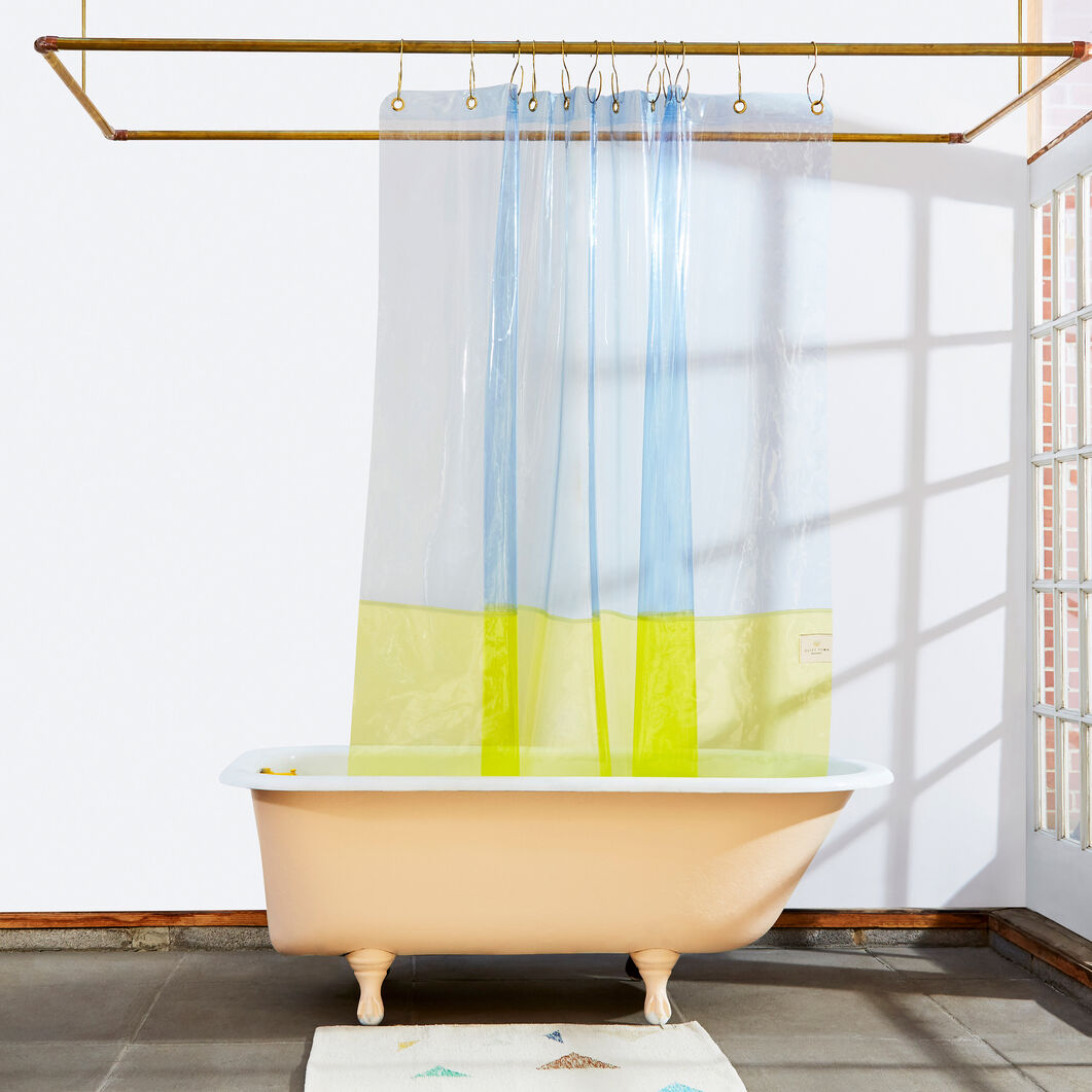 Quiet Town Sun Shower Curtain in color