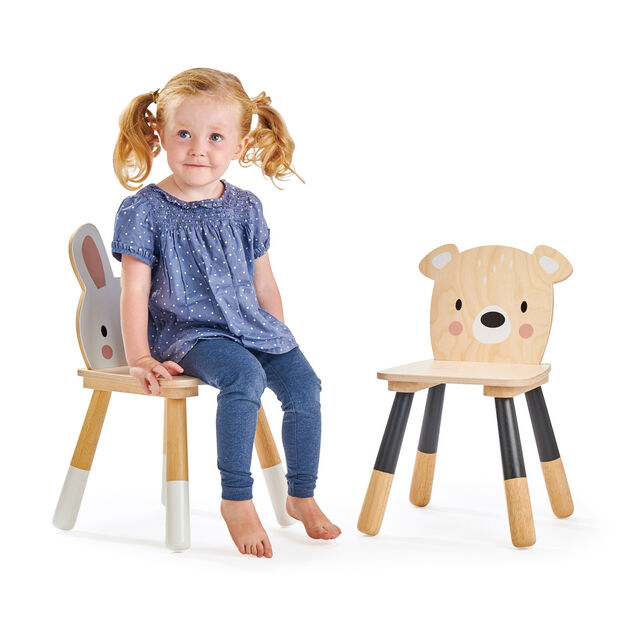 Kids' Forest Table & Chairs Set in color