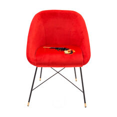 Seletti Wears Toiletpaper: Revolver Chair in color