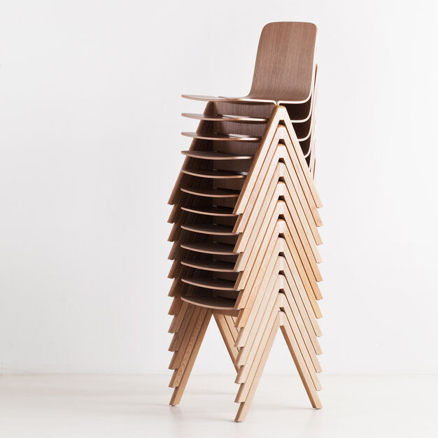 Bouroullec Brothers Copenhague Chair Oak in color Oak