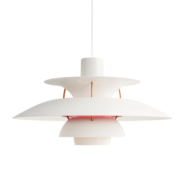PH 5 Hanging Lamp in color White
