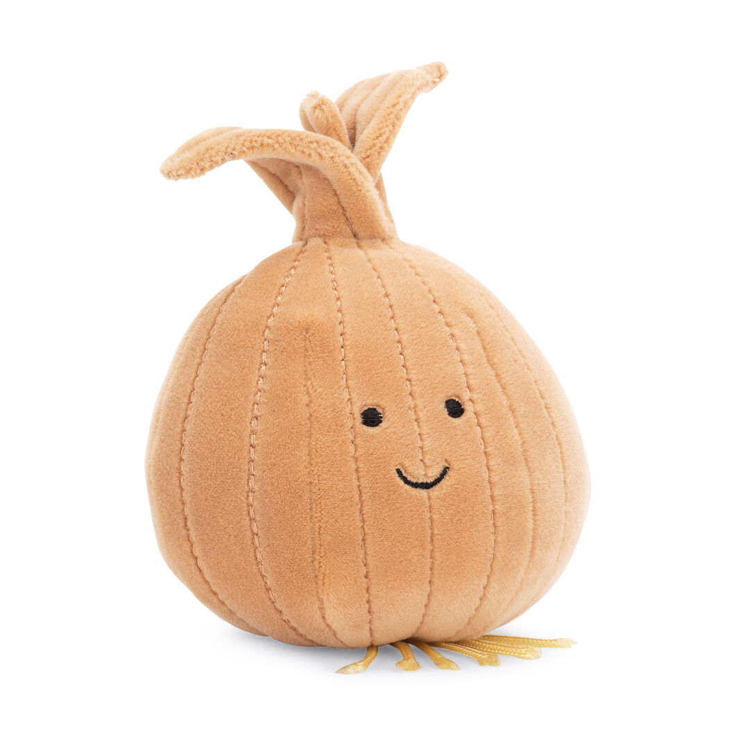 Plush Vivacious Vegetables in color Onion