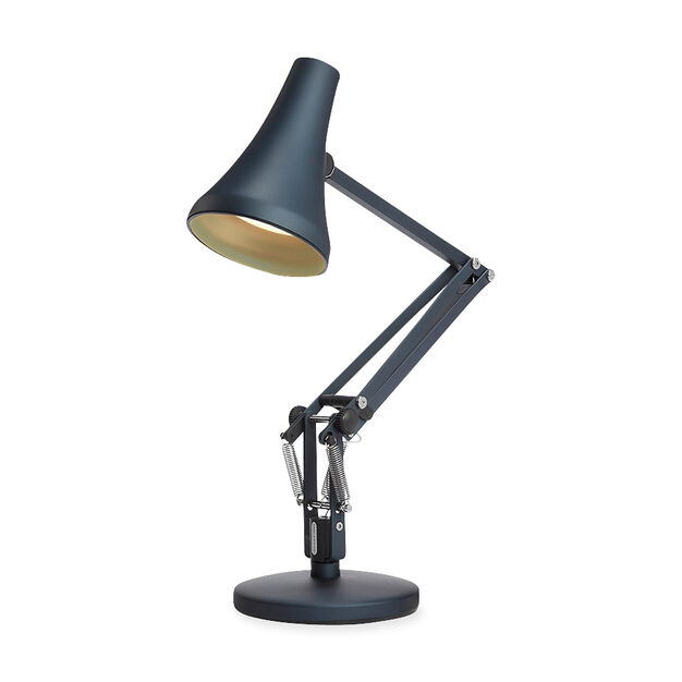 Anglepoise USB 90 Mini Mini Desk Lamp in color Steel Blue