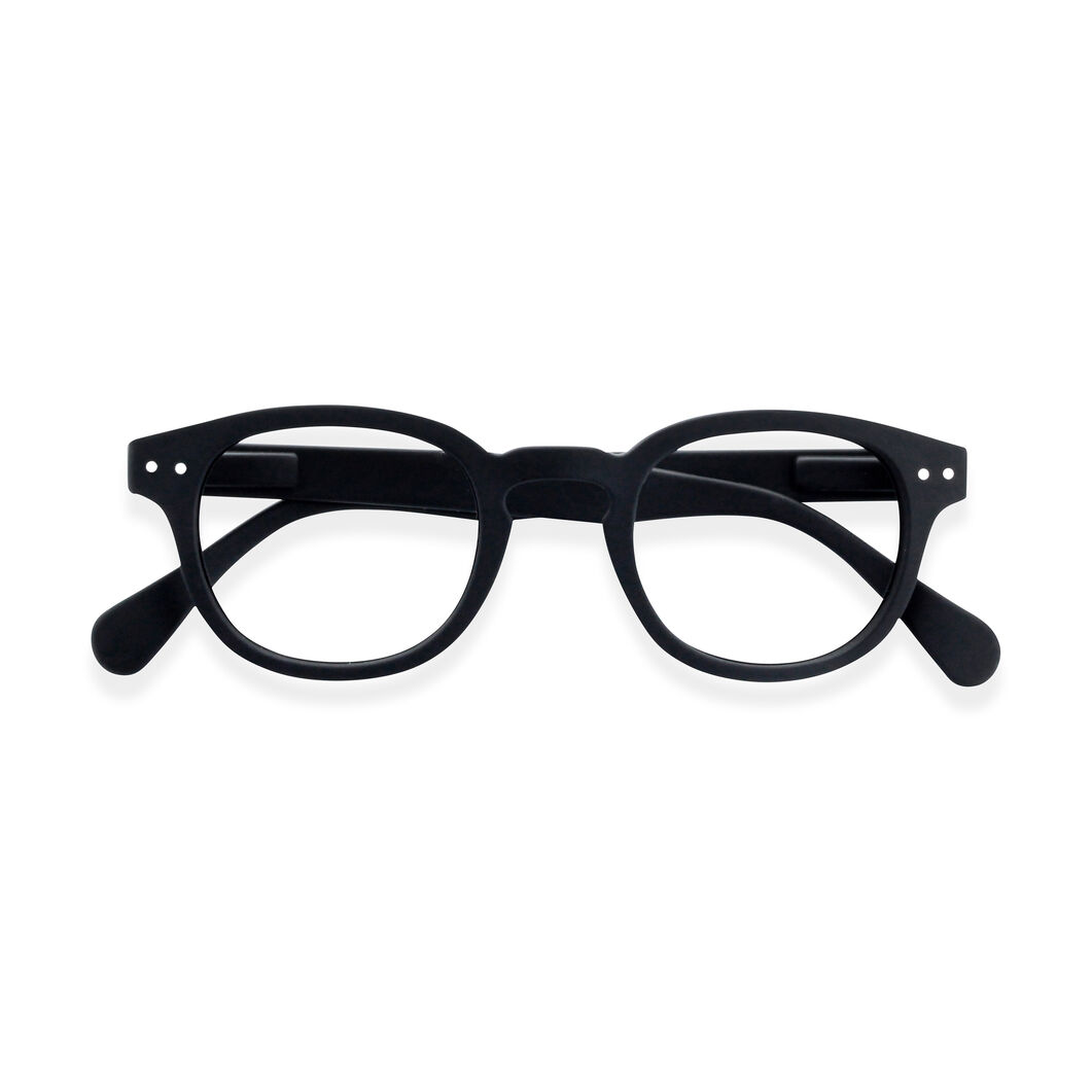 IZIPIZI Reading Glasses #C Black in color Black
