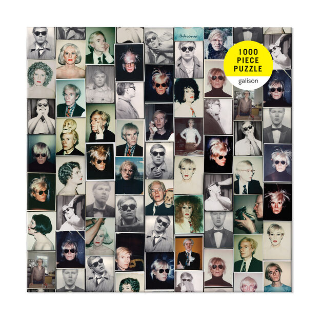 Andy Warhol Selfies Jigsaw Puzzle - 1,000 Pieces in color