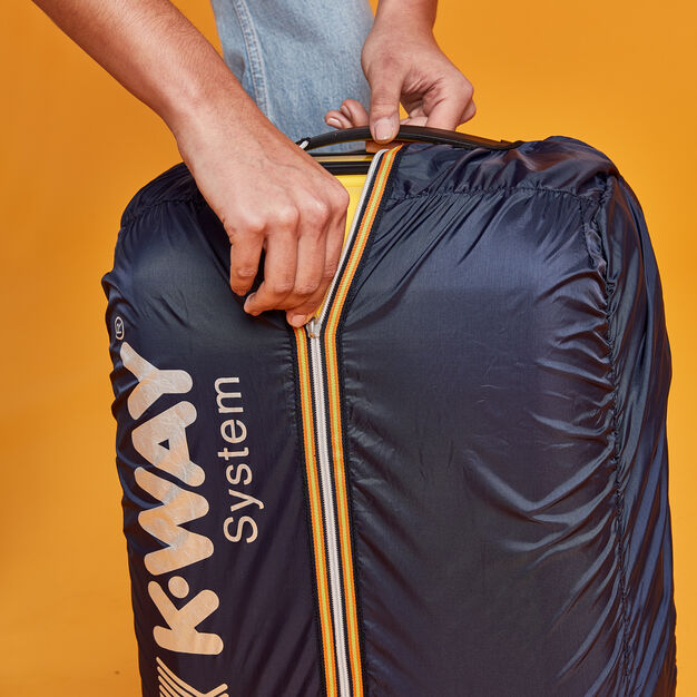 K-Way Suitcase in color Yellow