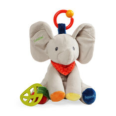 Flappy Elephant Plush Activity Toy in color