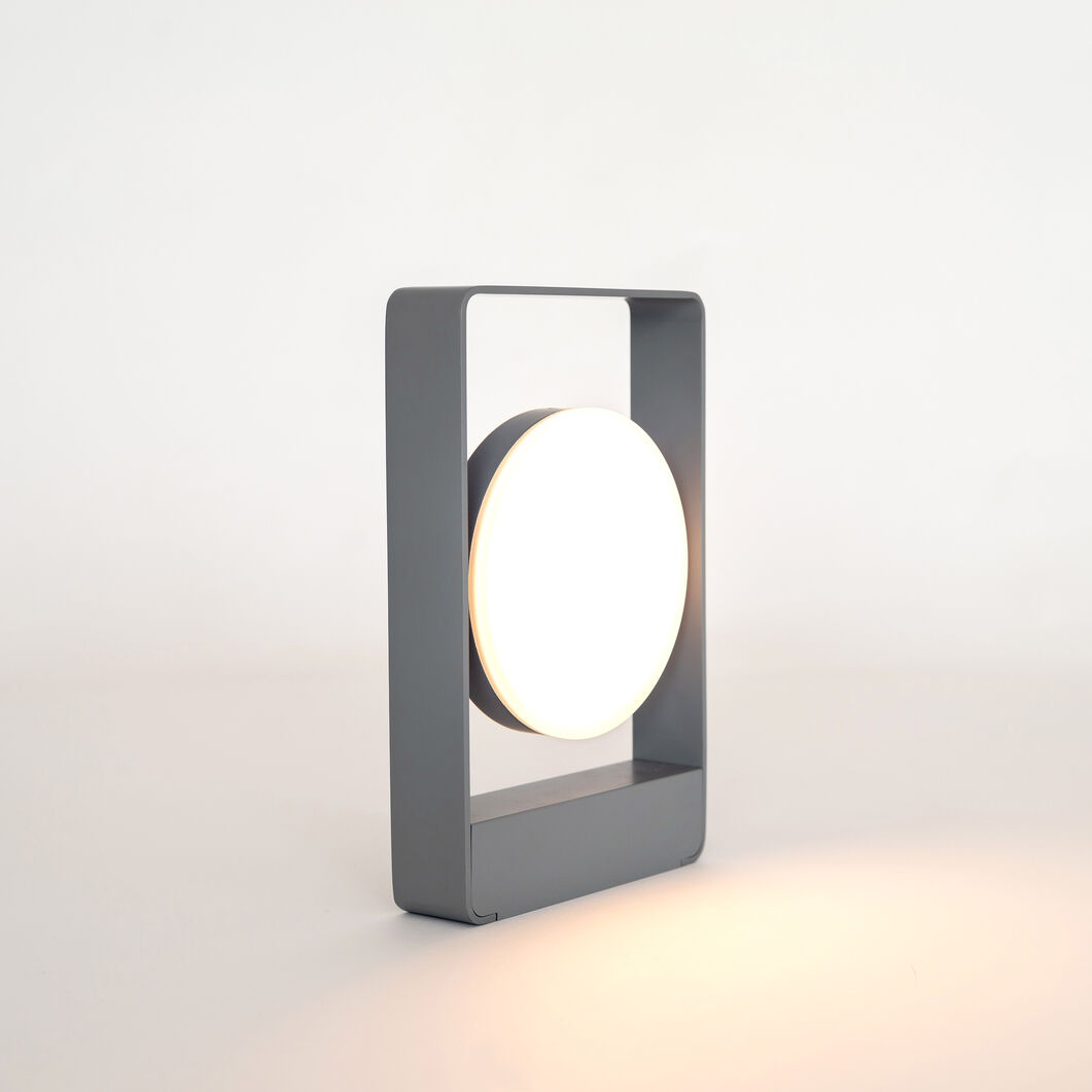 Mouro Table Lamp in color Gray
