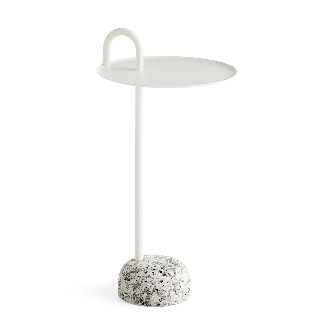 HAY Bowler Table in color White