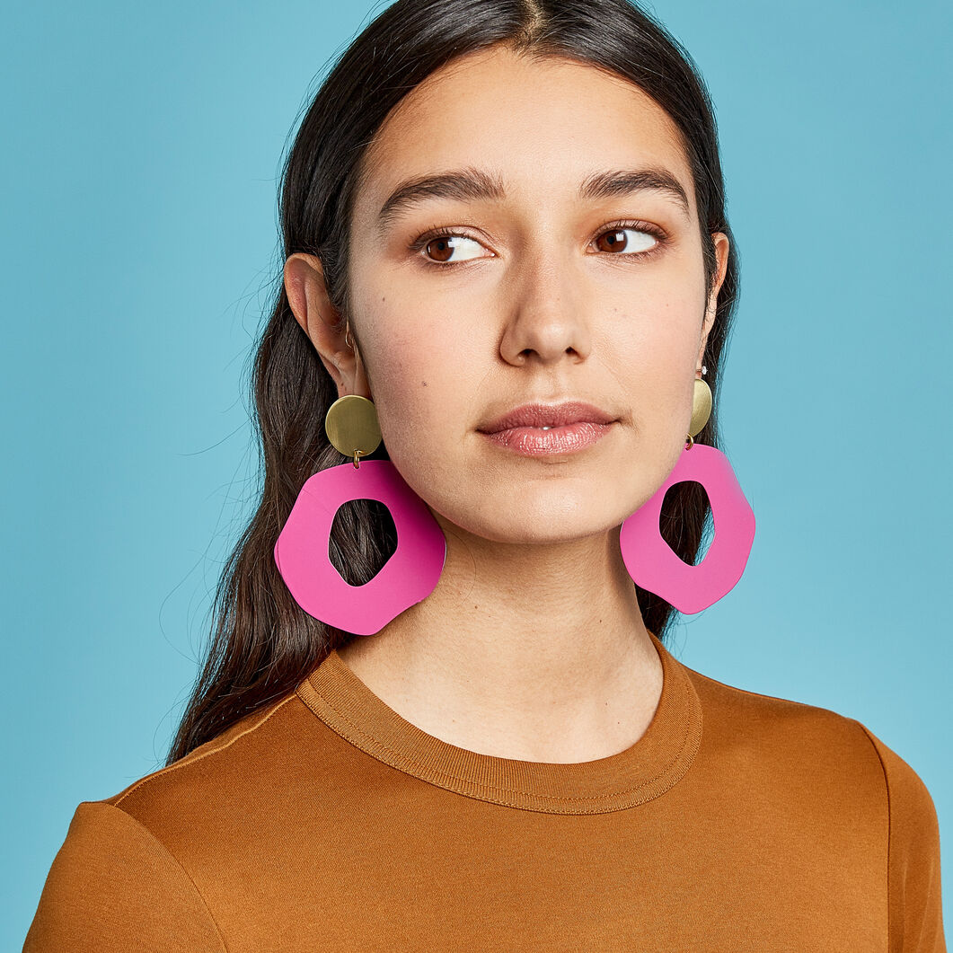 Sibilia Manchas Earrings in color