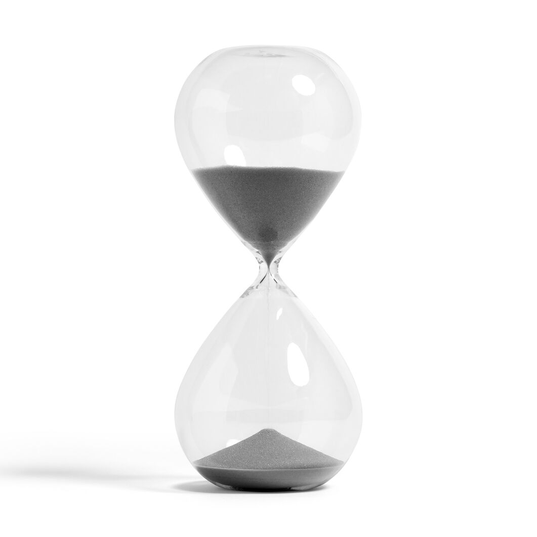 HAY 120-Minute Time Hourglass in color