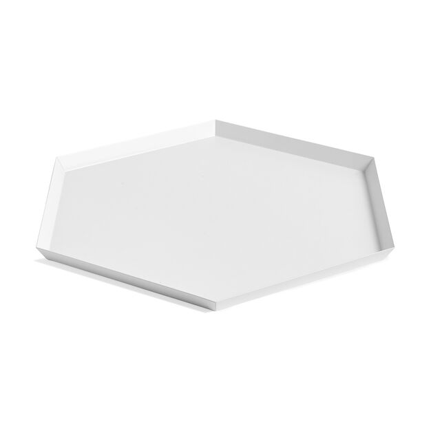 HAY Kaleido Tray X-Large in color White
