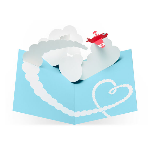 Sky Love You Pop-Up Note Cards - Set of 6 in color