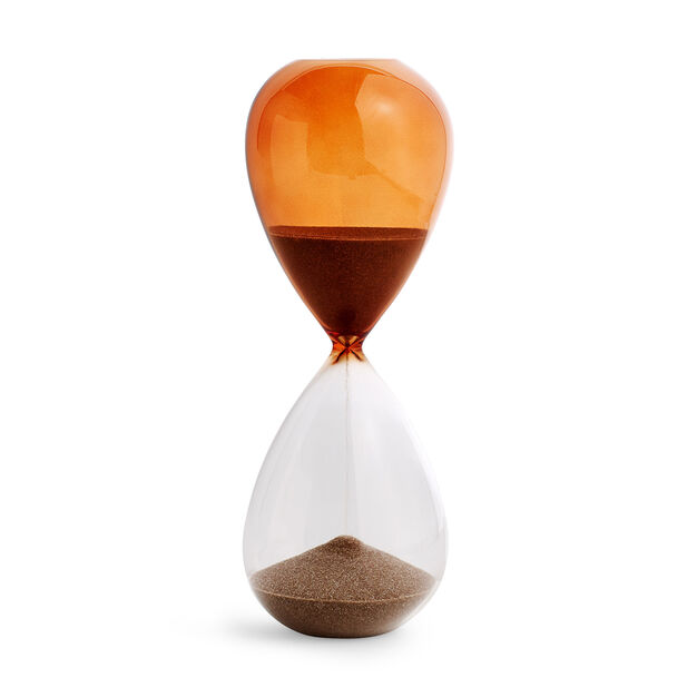 HAY Time Hourglass in color Orange