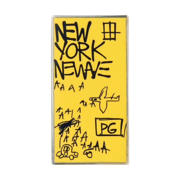 UNIQLO Jean-Michel Basquiat New York New Wave Pin in color