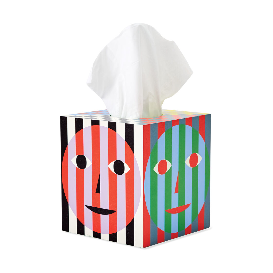 Dusen and Dusen Everybody Tissue Box in color