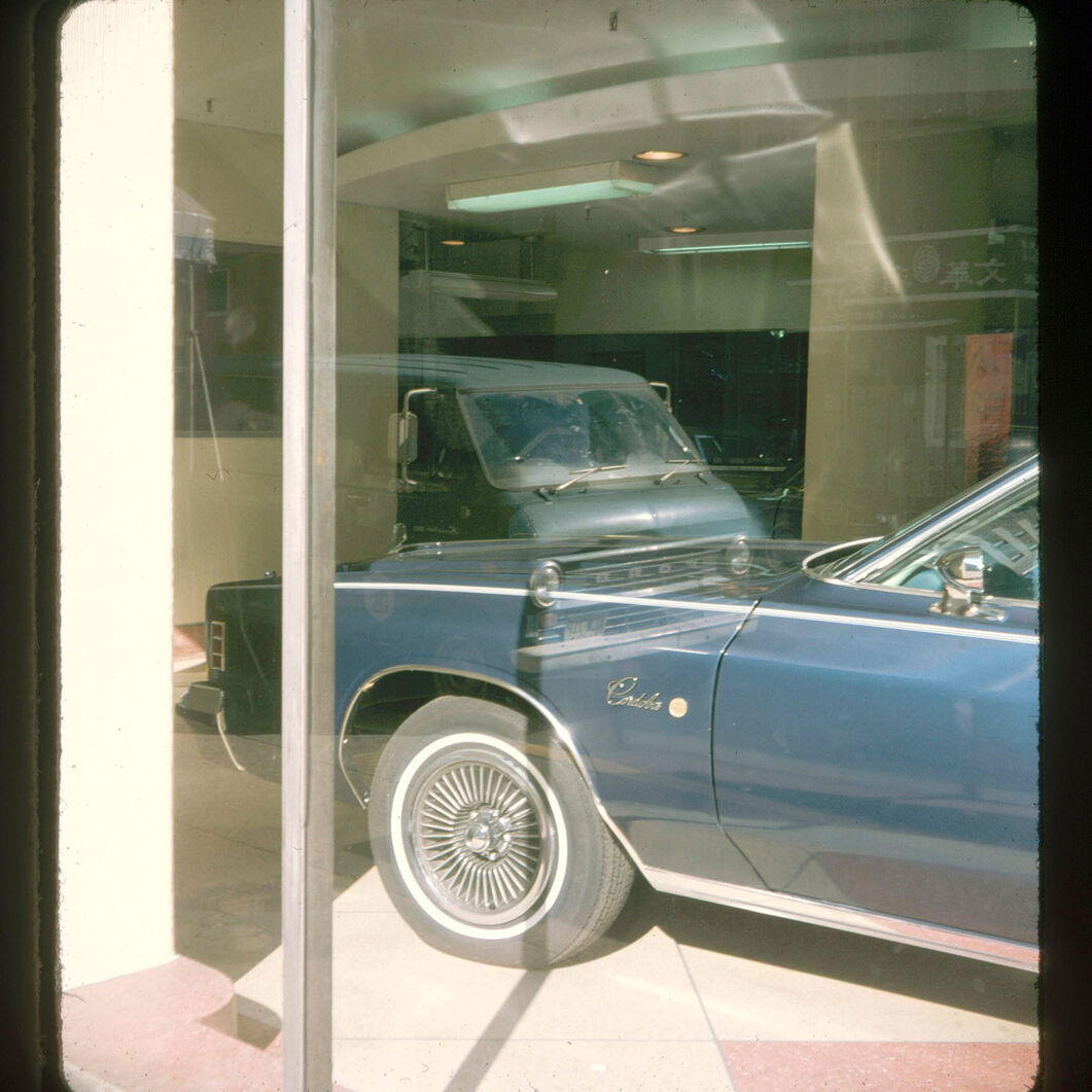 Stephen Shore Stereographs, 1974 in color