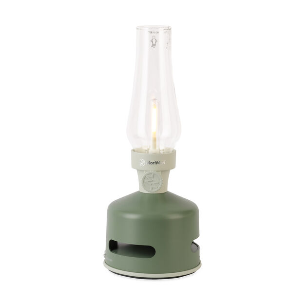 LED Lantern Speaker - Green in color