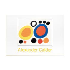 Alexander Calder Note Card Box in color