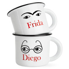 Frida and Diego Mugs in color