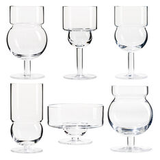 Sferico Glassware Set in color Transparent