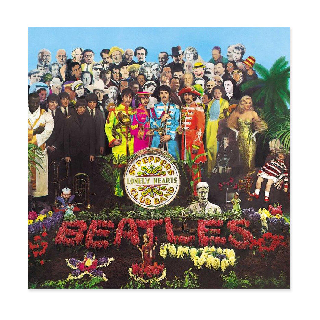 The Beatles: Sgt. Pepper's Lonely Hearts Club Band (2017 Stereo Mix) Vinyl Record in color