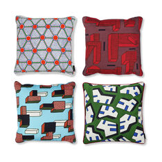 HAY NDP Printed Cushion Cover Cells in color Penta