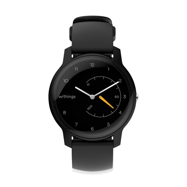 Withings Move Activity-Tracking Smart Watch in color Black