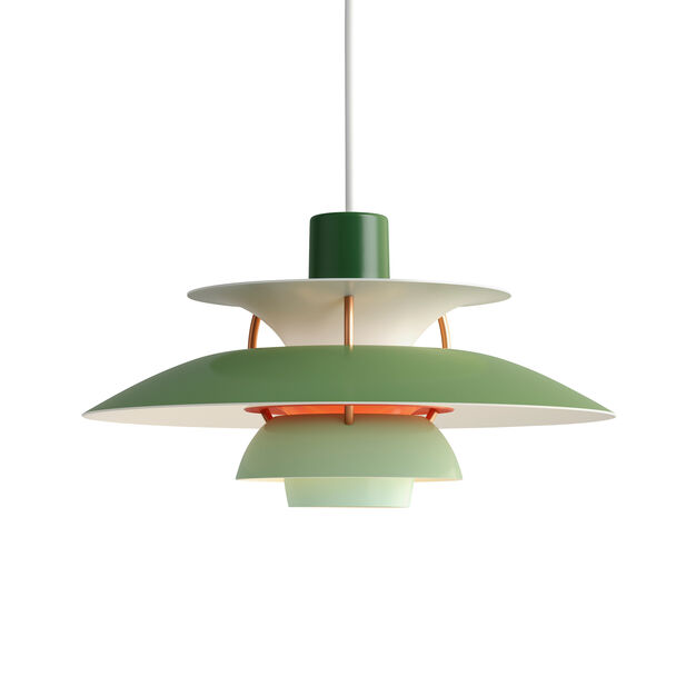 PH 5 Mini Hanging Lamp in color Green