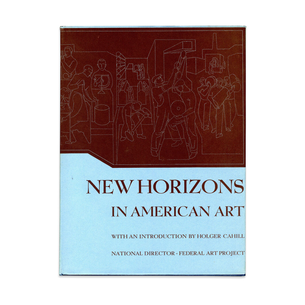 New Horizons in American Art - Hardcover in color