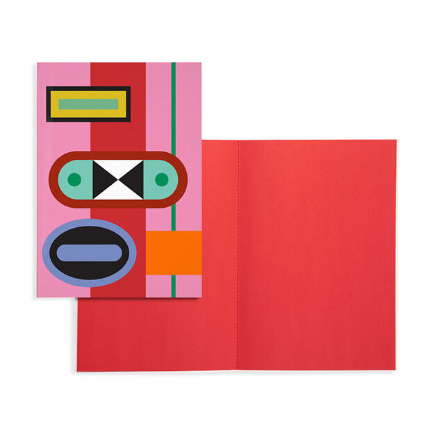 Nathalie Du Pasquier Notebook in color Red