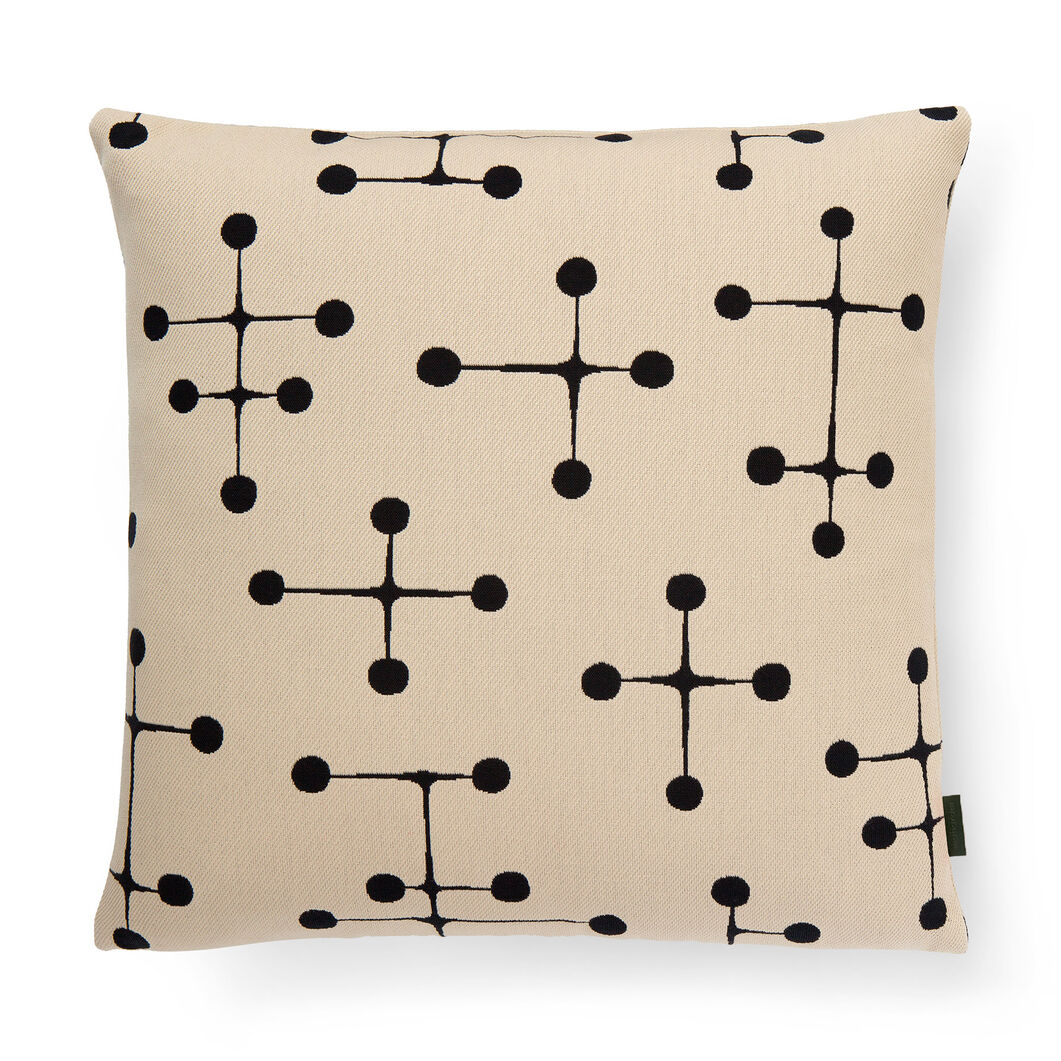 Dot Pattern Pillow in color