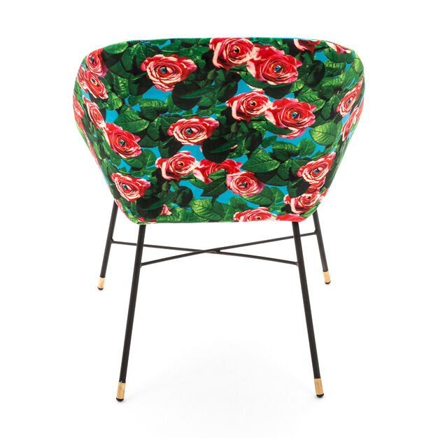 Seletti Wears Toiletpaper: Roses Chair in color