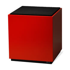 OD-11 Cloud Speaker - Satin Red in color Satin Red