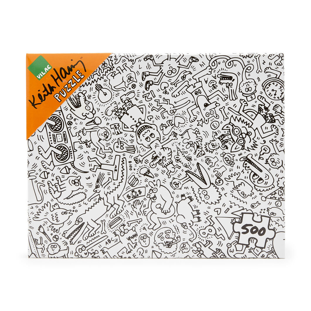 Keith Haring Jigsaw Puzzle - 500 Pieces in color