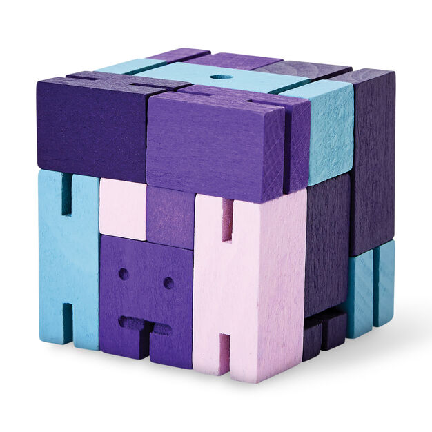 Cubebot® Capsule in color Purple