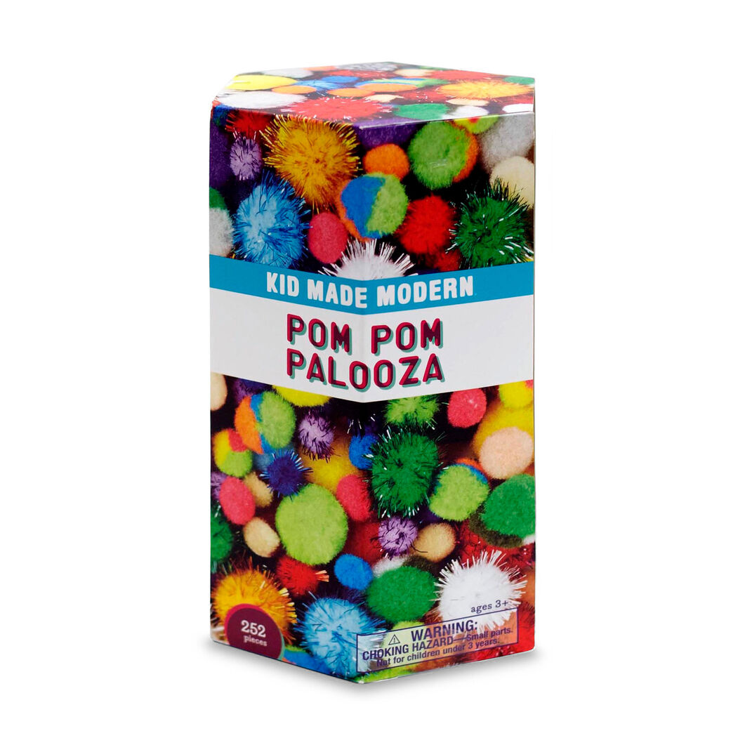 Kid Made Modern Pom Pom Palooza in color
