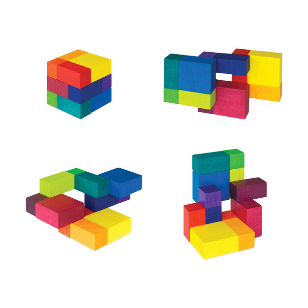 Playable Art Cube in color