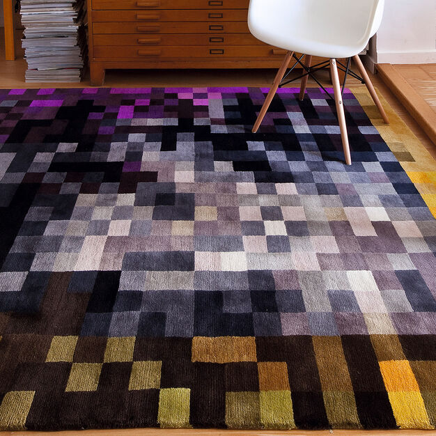 Nanimarquina Digit 2 Rug in color Gray