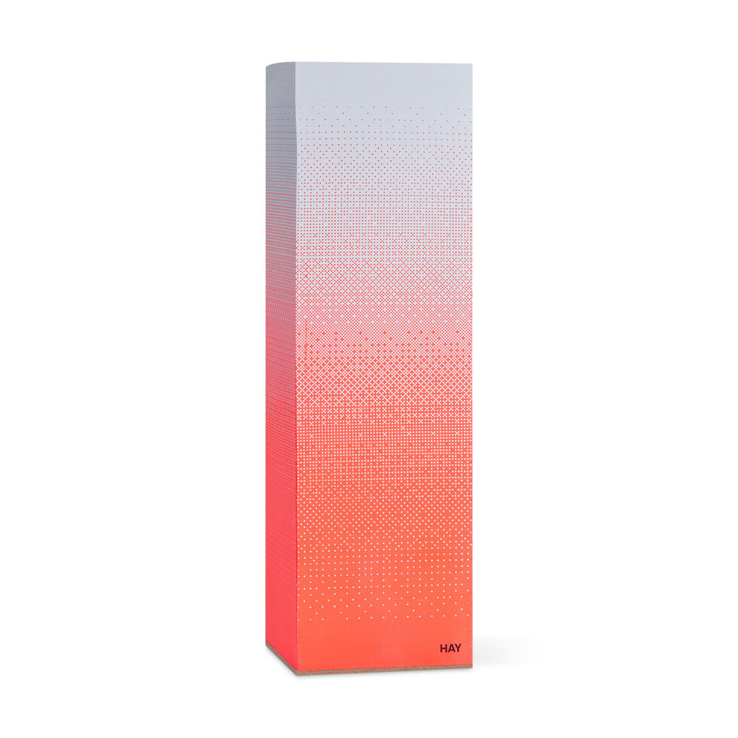 Hay Tower Block Notepad Fade Coral in color Coral