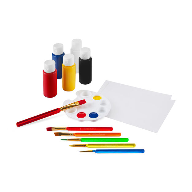 Learn to Paint Set in color
