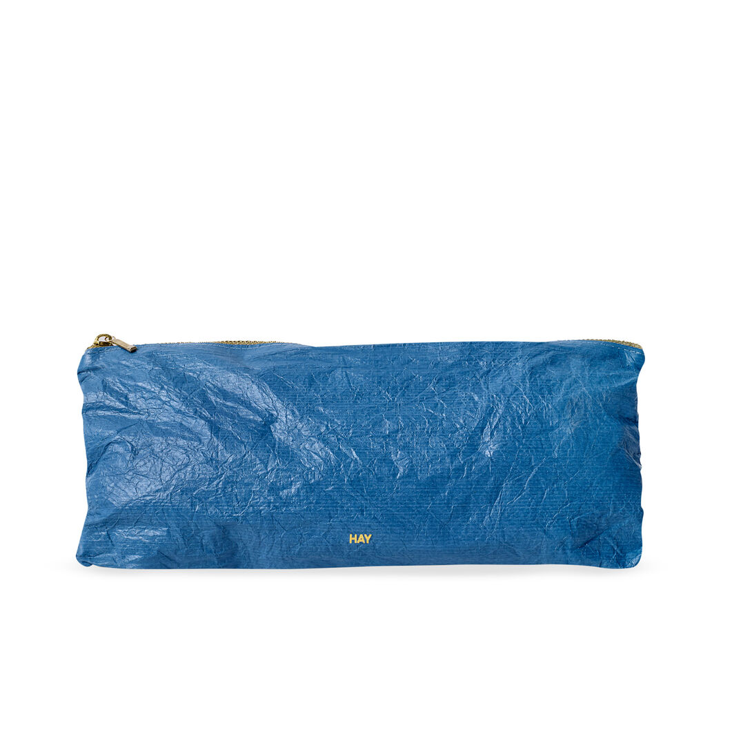 HAY Essential Zip Pack -  Medium Rectangle Blue in color Blue