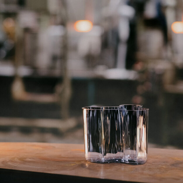 Aalto Vase - Iittala Recycled Glass Edition in color
