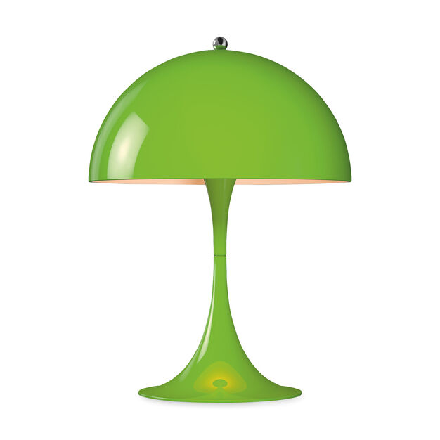 Panthella Mini Table Lamp in color Yellow/ Green