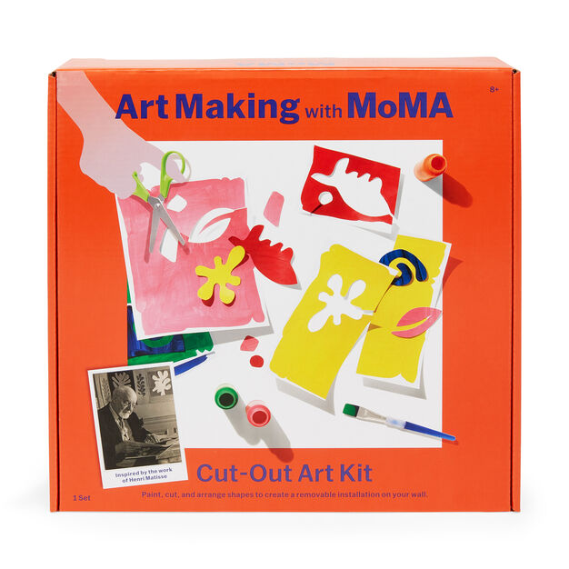 Art Making with MoMA: Cut-Out Art Kit in color
