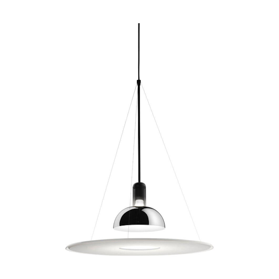 Frisbi Pendant Light in color Black